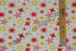 Звезды сверкающие  интерлок остаток 2,48м