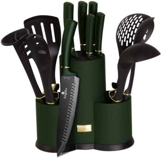 BH-6250A Набор ножей и кухонных аксессуаров на подставке 12 пр.