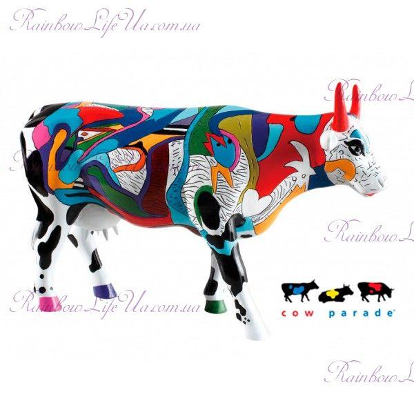 "Коллекционная статуэтка корова ""Ziv's Udderly Cool Cow"", Size L"