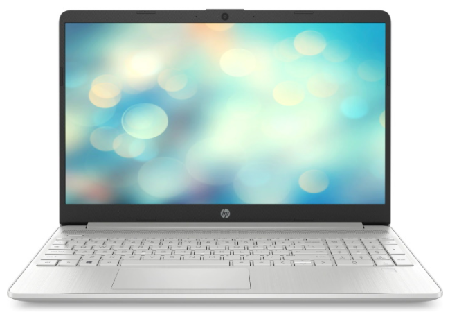 Ноутбук HP 15s-fq3021ur Серебристый (3T795EA)