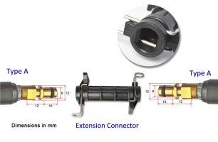 Удлинительный соединитель шланга для Karcher K2 K3 K4 K5 K6 K7 адаптер для мойки высокого давления, аксессуары для автомобиля
