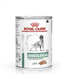 Роял канин Diabetic Special Low Carbohydrate для собак (Диабетик Спешиал) паштет 410г