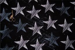 Звезды футер 2-х нитка отрез 0,5м
