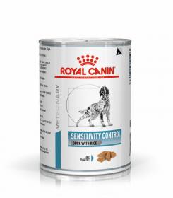 Роял канин Sensitivity Control Canine Duck with Rice для собак (Сенситивити контрол) паштет 420г.