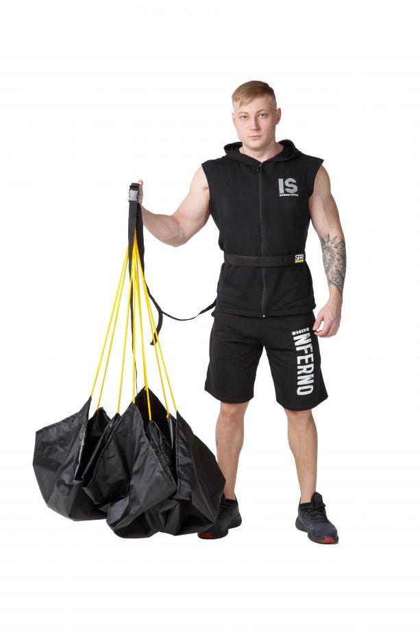 Парашют для бега SPR (Сопротивление 25 кг)