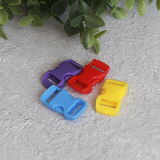 Застежка-фастекс мини 10 мм. (набор из 4 шт.)