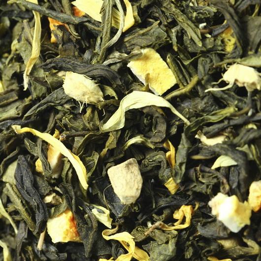 Имбирный чай - зеленый чай с натуральными добавками