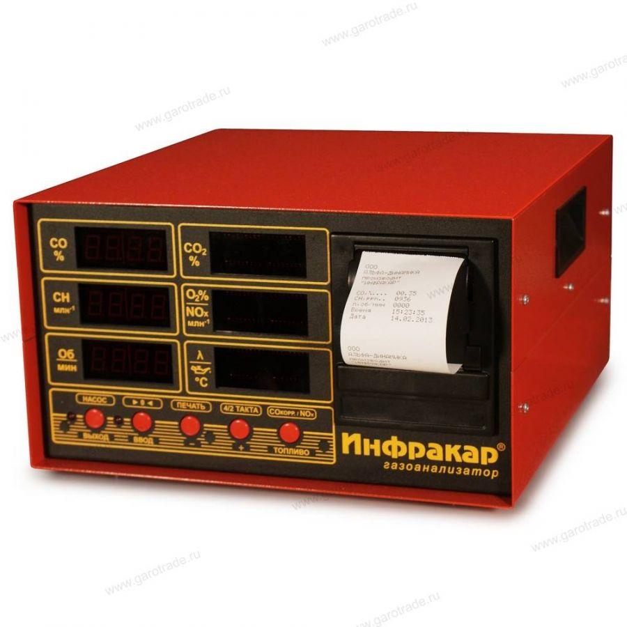 ИНФРАКАР М-2.02 газоанализатор 4-х компонентный