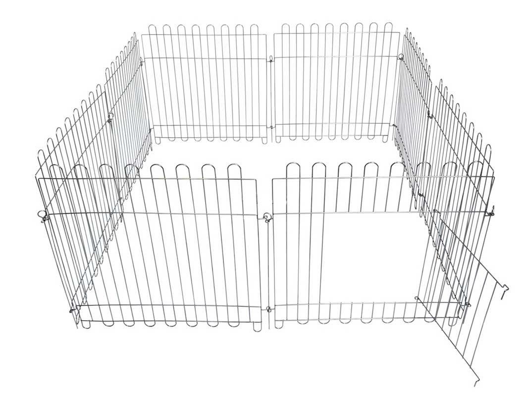 Вольер для собак кошек щенков 8х64х73 см с дверкой