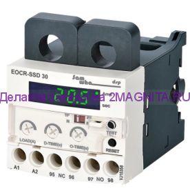Электронное реле защиты трех фазного двигателя EOCR-SSD 0-30А