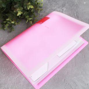 Папка для выкроек формата А5, розовая