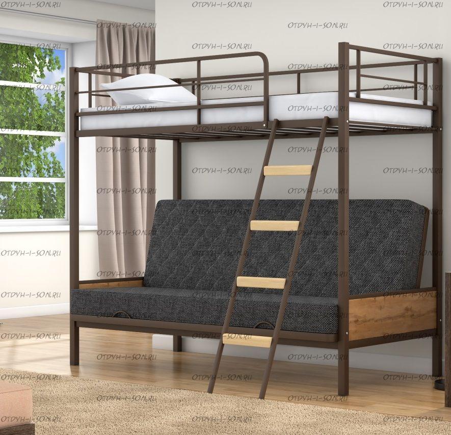 Кровать двухъярусная диван Дакар 2 Лофт