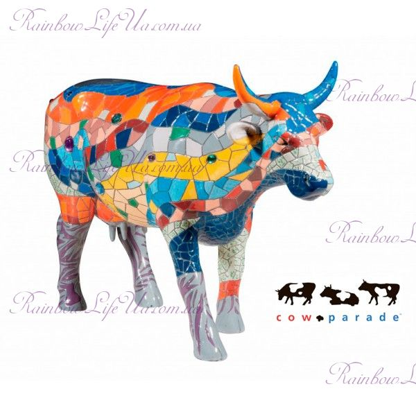 "Коллекционная статуэтка корова ""Barcelona"", Size L"