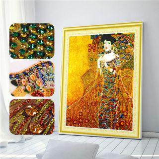 Золотая Адель ( Репродукция Густава Климта)