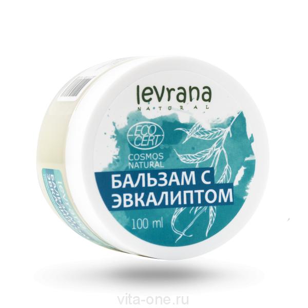 Бальзам с эвкалиптом Levrana 100 мл ECOCERT