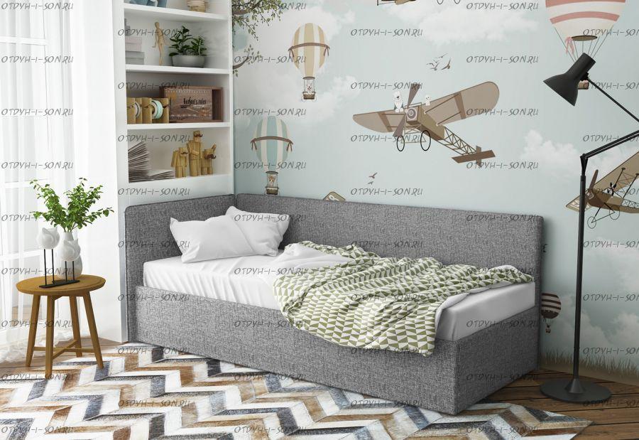 Кровать Аланд с 1 спинкой