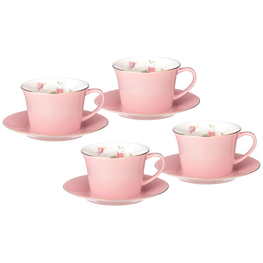 """Чайный набор на 4 персоны """"Времена Года"""", 8 пр., 260 мл"""