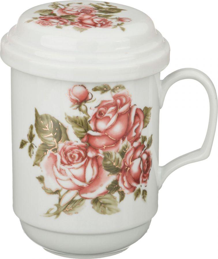 "Заварочная кружка ""Корейская роза"" 350 мл"