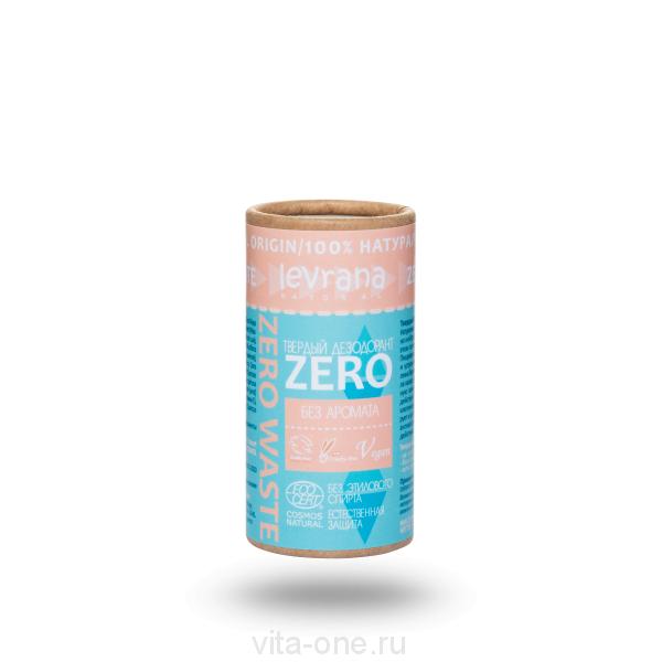 Твердый дезодорант ZERO Levrana 75 г ECOCERT