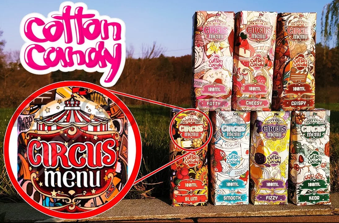 CIRCUS MENU by Cotton Candy 100 мл