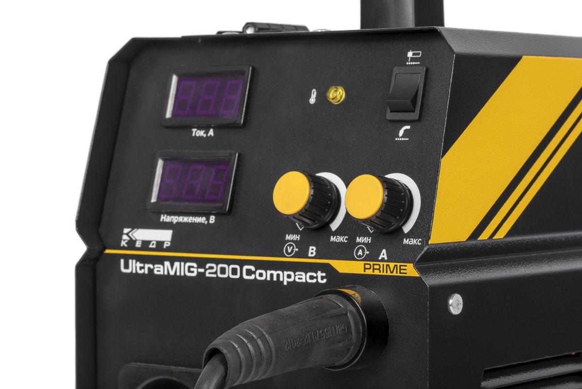 Полуавтомат КЕДР UltraMIG-200 Compact (220В, 40-200А)