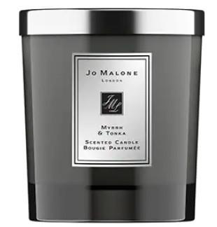 "Свеча ароматическая парфюмерная Jo Malone ""Myrrh & Tonka Cologne"""