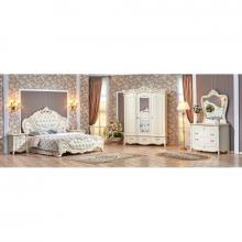 Спальня ЭЛИЗА ЛЮКС 1,6 3-дверный шкаф крем