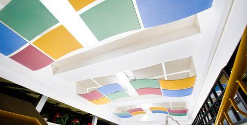Потолочная плита Optima Canopy — Convex (1) 1170x1040x30