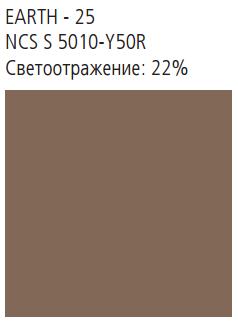 NATURAL TONES 2400x600x40 кромка A24 цвет Earth
