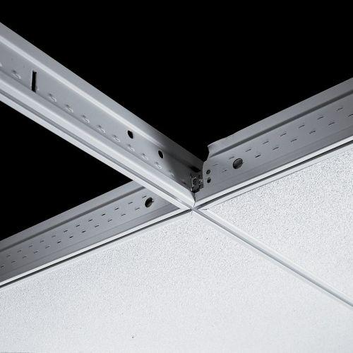 Поперечная рейка Silhouette 15XL 600x44 мм с щелью 6 мм (каркас белый)
