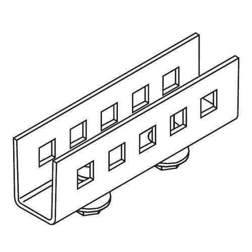 Элемент соединительный 95,25х17,5х23 мм (в коробке 100 шт)