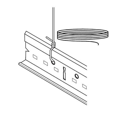 Проволока для вывешивания диаметром 2мм (в коробке 1 бухта)