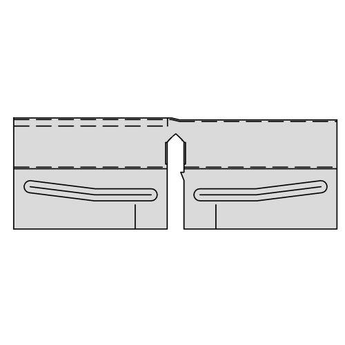 Сейсмо-шина соединительная для поперечных реек XL 24мм (в коробке 200 шт.)
