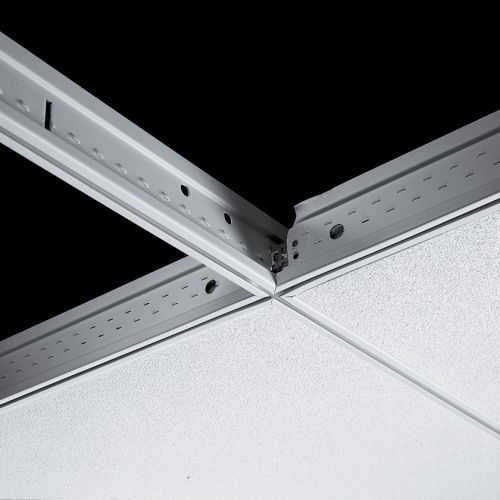 Поперечная рейка Silhouette 15XL 1200x44 мм с щелью 6 мм (каркас белый)