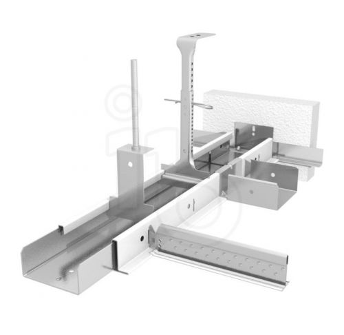 Подвесная система Bandraster 125 мм без прорезей