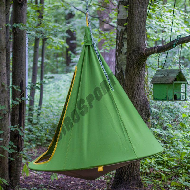 Гамак-кокон d-110/140см, зеленый