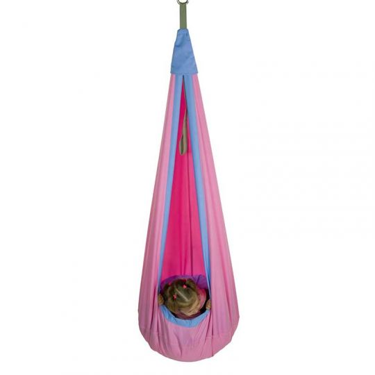 Гамак-кокон детский d-80см, розовый
