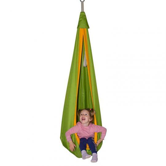 Гамак-кокон детский d-80см, зеленый