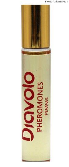 """Ароматное эфирное масло для женщин с феромонами """"Diavolo""""  Flirt Secret, 8мл."""