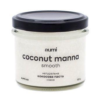 Натуральная кокосовая паста нежная (манна) Aumi, 120грамм