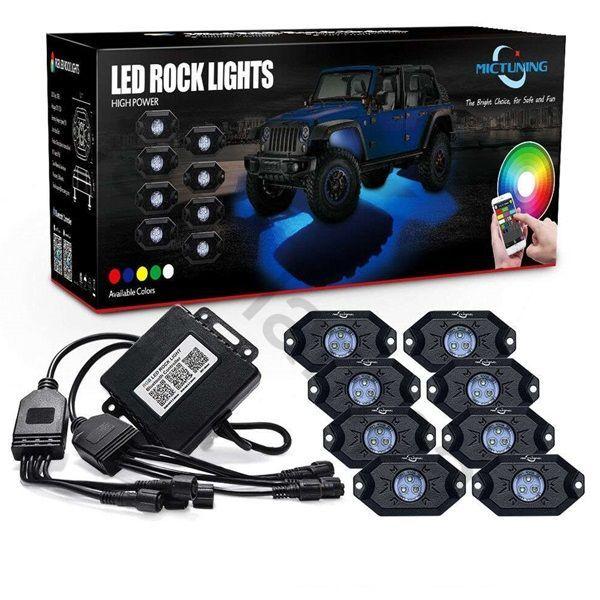 Подсветка днища автомобиля MUD LIGHT MONSTER 8 ламп