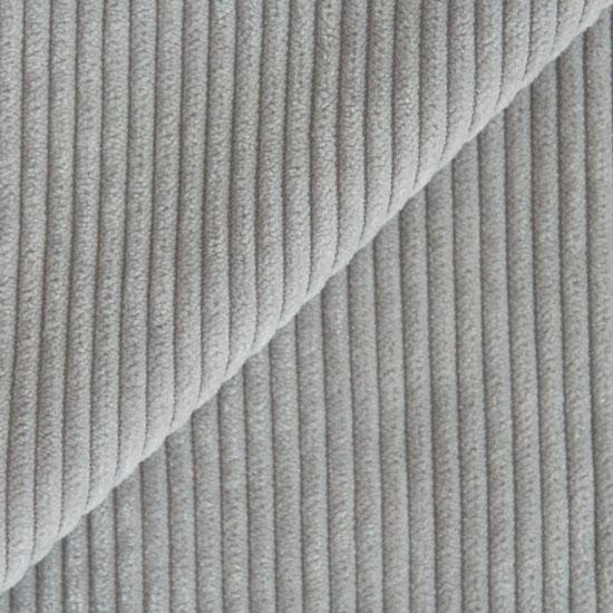 Вельвет в рубчик - серый 50*25 см УЦЕНКА Нестандартный отрез