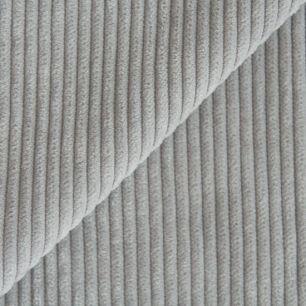 Вельвет в рубчик - серый 50*50 см