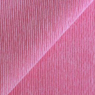 Микровельвет  розовый 50*50 см.
