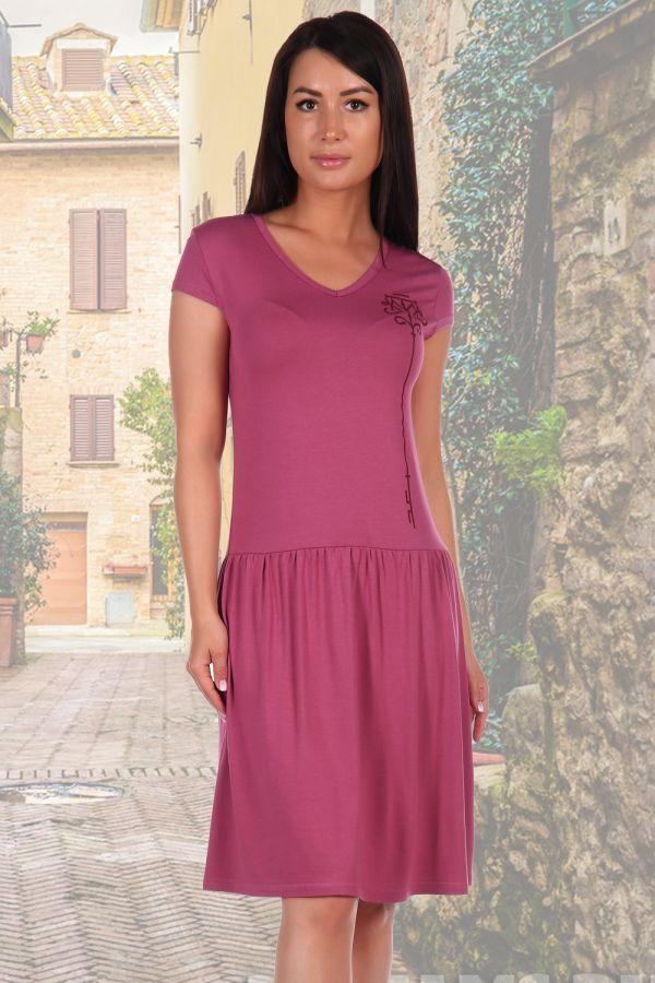 Платье 2462 [брусничный]
