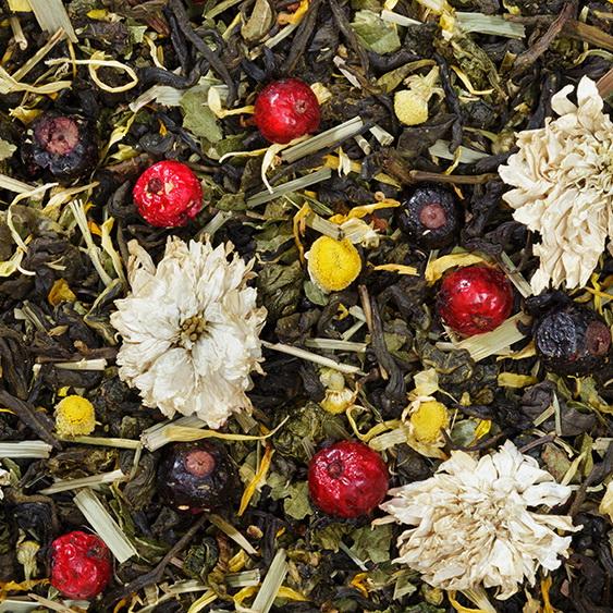 Фитнес - зеленый чай с натуральными добавками