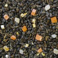 Фрукты тропиков - зеленый чай с добавками