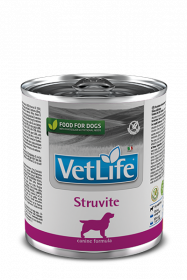 Vet Life Dog влажный корм Struvite (Струвит) банка 300г.