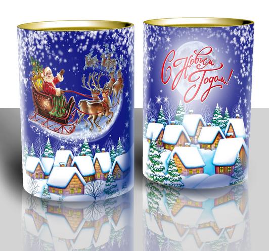 Сани от Деда Мороза  600 грамм