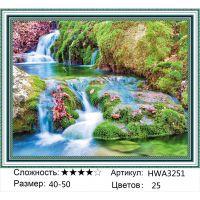 Алмазная мозаика на подрамнике HWA3251